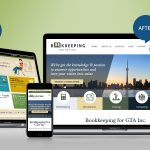 responsive website design before after