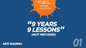 Podcast Episode 01: 9 Years & 9 Lessons (Not Mistakes!)